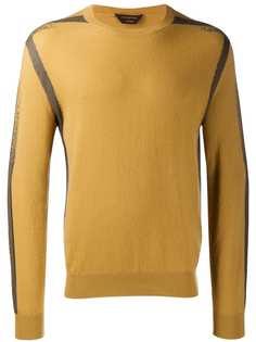 Ermenegildo Zegna трикотажный свитер с принтом