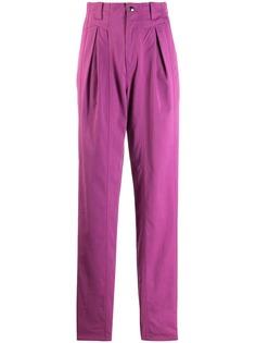 Isabel Marant брюки прямого кроя с декоративной строчкой