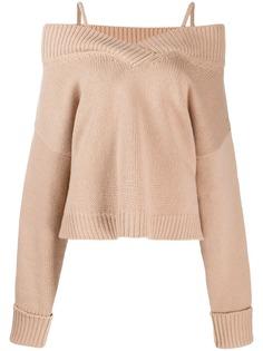 Maison Margiela свитер с открытыми плечами