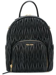 Miu Miu стеганый рюкзак