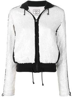 Chanel Pre-Owned куртка с пайетками