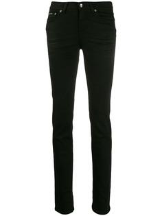 Dolce & Gabbana джинсы скинни с нашивкой-логотипом