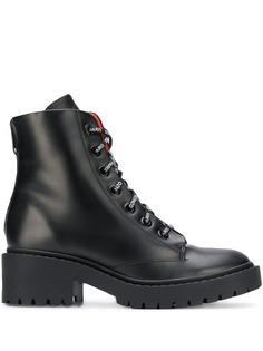 Kenzo ботинки на шнуровке