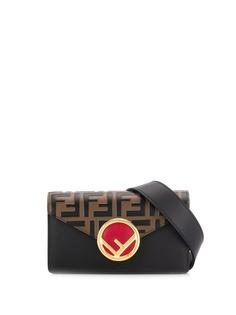 Fendi поясная сумка с монограммой FF