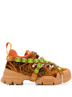 Gucci декорированные кроссовки Flashtrack