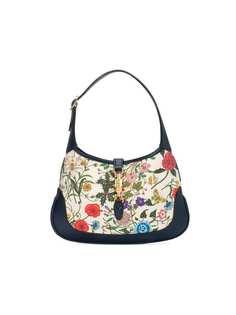 Gucci сумка на плечо с цветочным принтом