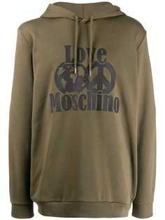 Love Moschino толстовка с принтом