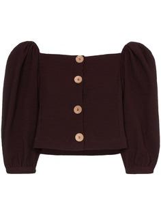 N Duo блузка с открытыми плечами