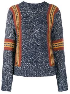 See By Chloé свитер в полоску с круглым вырезом