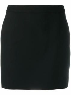Saint Laurent короткая юбка-трапеция