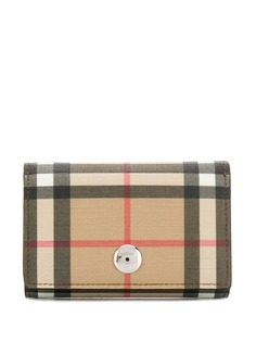 Burberry Vintage Check pattern purse