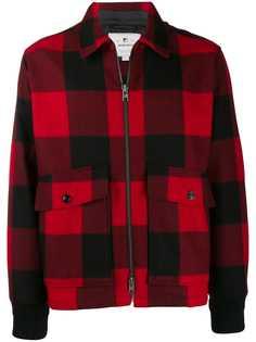 Woolrich куртка-рубашка в клетку