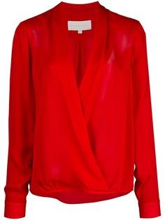 Michelle Mason блузка с запахом