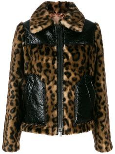 Nº21 куртка с леопардовым принтом