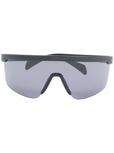Tommy Hilfiger массивные солнцезащитные очки
