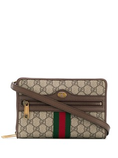 Gucci маленькая сумка на плечо Ophidia с логотипом GG