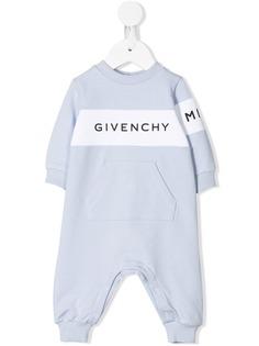 Givenchy Kids ромпер с логотипом