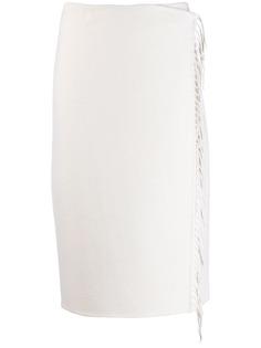 P.A.R.O.S.H. юбка-карандаш с запахом
