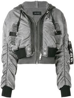 Diesel укороченная куртка-бомбер