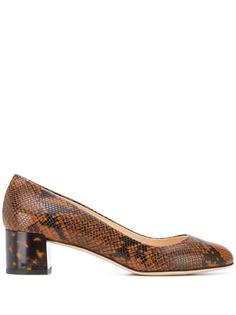 Jimmy Choo туфли-лодочки Jessie 40 с тиснением под кожу змеи