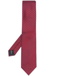 Ermenegildo Zegna галстук Fantasia с геометричным узором
