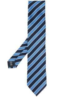 Ermenegildo Zegna галстук в диагональную полоску