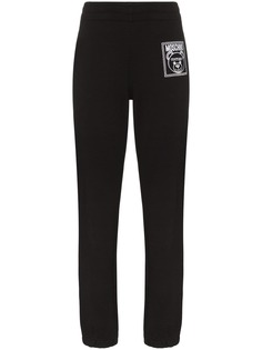 Moschino спортивные брюки Teddy Bear