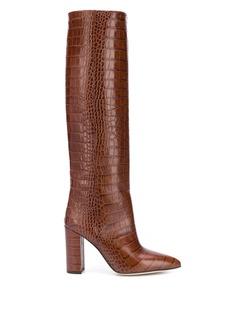 Paris Texas ботинки с тиснением под кожу крокодила