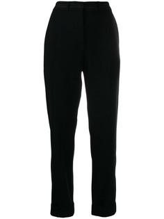 Kenzo брюки строгого кроя с завышенной талией