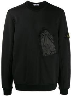 Stone Island chest pocket sweatshirt
