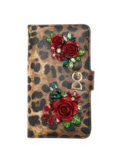 Dolce & Gabbana чехол для iPhone с анималистичным принтом