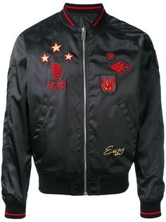 Diesel куртка-бомбер с вышивкой