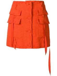 MSGM tweed skirt