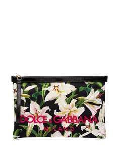 Dolce & Gabbana клатч с принтом