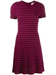 Michael Michael Kors расклешенное платье мини