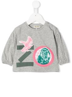 Kenzo Kids футболка с логотипом