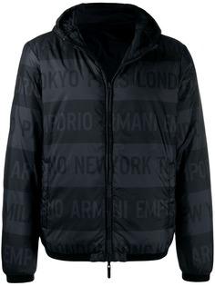 Emporio Armani куртка-пуховик City Press