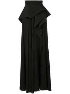 Azzi & Osta юбка с завышенной талией и баской