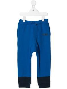 Kenzo Kids двухцветные спортивные брюки
