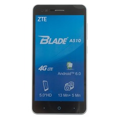 Смартфон ZTE Blade 8Gb, A510, серый
