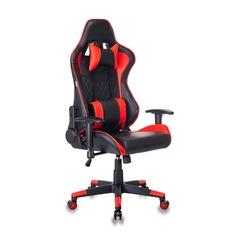 Кресло игровое БЮРОКРАТ СН-788, на колесиках, искусственная кожа [сн-788/bl+r]