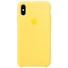 Чехол для iPhone Apple iPhone XS Silicone Canary Yellow (MW992ZM/A)