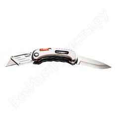 Нож с трапециевидным лезвием neo 63-710