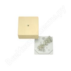 Коробка распределительная с клеммником оп 60х60х30 сосна крк2701 0201-и