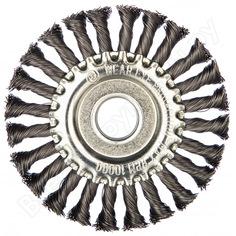 Щетка круглая витая (125х22.2 мм)edge by patriot 813010011