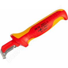 Нож для снятия изоляции с пяткой knipex kn-9855