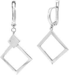 Серебряные серьги Серьги Evora 634280-e