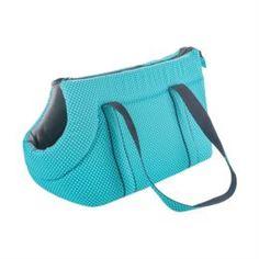 Домики, лежаки, переноски, когтеточки Сумка для собак геометрия Happy puppy шатель голубая 37х20х23 см
