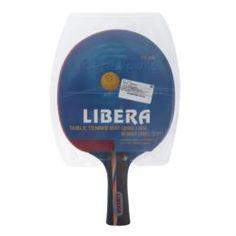 Товары для тенниса Ракетка для настольного тенниса Libera 3 звезды, мягкая, spin 6, speed 6, control 5