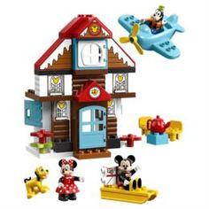 Конструкторы, пазлы Конструктор LEGO Duplo Disney Летний домик Микки 10889